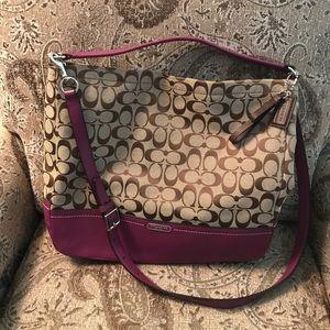 Coach Signature Handbag Crossbody